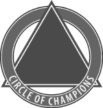 Circle of Champions logo 284 by 300