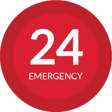 24 hour emergency icon